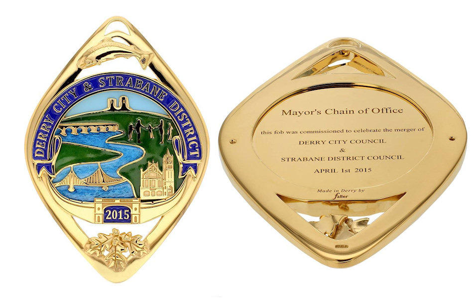 new Derry Strabane mayoral fob